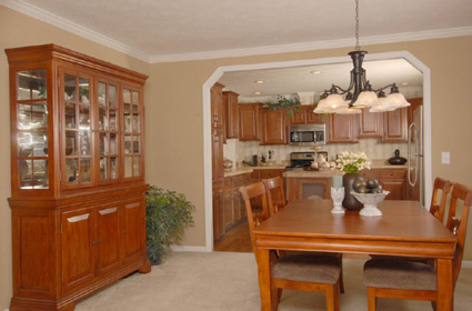 Colony Homes WW696-A Dining Room
