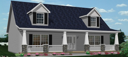 Pennwest homes cape cod style modular home floor plans Cape cod model homes