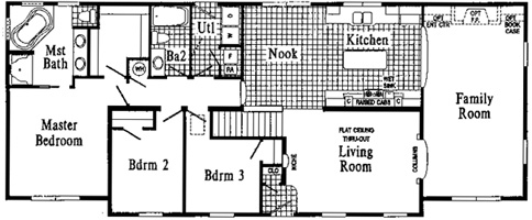 Oakland HR108-A Floor Plan - Click To Enlarge Floor Plan