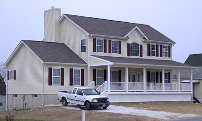 Pennwest Custom Two Story Modular Home  Exterior - Click for Details